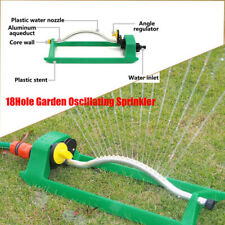 More details for 18 holes oscillating sprinkler hozelock compatible water for garden lawn grass