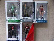 "Dc Comics 7"" Action Figure Hawkgirl Green Lantern Martian Manhunter Nightwing Ww"