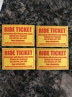 Four Attraction Ride Tickets For North West Fun Fair Rides