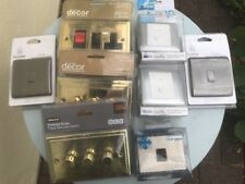 Bundle Light Switches Various 1 3 Gang Dimmer Switch Fused  Pewter Brass Cooker