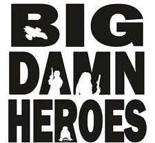Vinyl Decal Sticker Car Truck Window - Firefly Serenity Big Damn Heroes