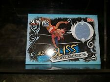 WWE SLAM ATTAX LIVE AUTHENTIC RING MAT MEMORABILIA CARD ALEXA BLISS SURVIVOR SER