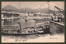 PIEMONTE. Novara, Porto di Intra. Bella cart. viaggiata, dentro busta, nel 1906
