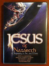 Jesus of Nazareth * A Biography in Art and Music (DVD, 2004) - E0331