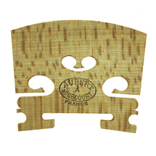 More details for aubert a mirecourt french violin 3/4 size bridge - hard maple - unfitted