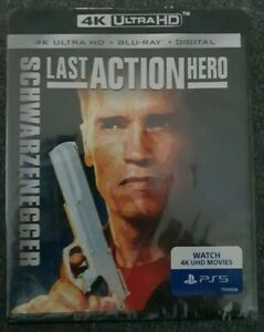The Last Action Hero 4K Ultra Hd + Blu-ray (2 Disc Set) Brand New Sealed