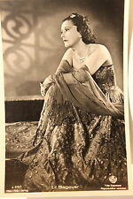 21439 Ross Film Foto AK 3735/1 Lil Dagover in langer Robe um 1940 photo PC