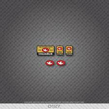 0127 Columbus Tubi Rinforzati Garantiti Bicycle Stickers - Decals