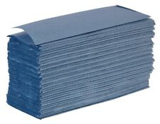 System Hygiene Blue 1 Ply Z Fold Paper Hand Towels Interleaf 3000 per Case