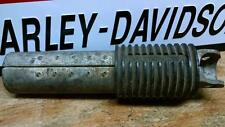 Police servi car peg pedal rubber extension shovelhead ELECTRAGLIDE HARLEY rare