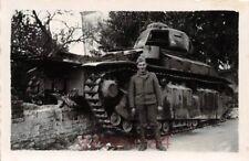 Franz. Panzer Char D2 Renault bei Deinze Belgien
