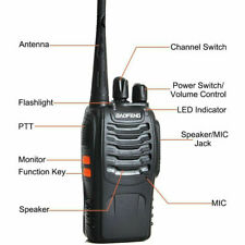 BAOFENG BF-888s UHF TWO WAY RADIO PREPROGRAMMED FRS GMRS PMR LPD OR CUSTOM FREQU