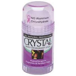 Crystal Deodorant Crystal Stick Deodorant Twist Up  1X 4.25 Oz (3 Pack)