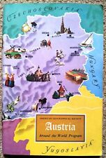 Austria. American Geographical Society Around the World Program 1967