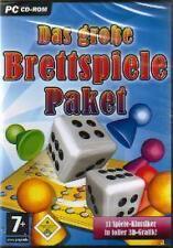 BRETTSPIELE PAKET 3D Mühle Halma Schach Dame ReverseTop Zustand