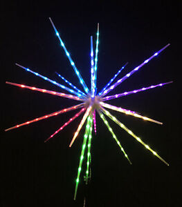 Huge Starburst Smart LED Light Multicolored With Remote USA Seller Fast Shipping
