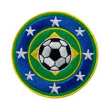 Fussball Fußball Brasilien - Aufnäher Aufbügler Patch Neu #9053
