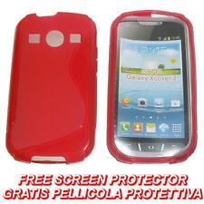 Pellicola+Custodia cover case WAVE ROSSA per Samsung S7710 Galaxy Xcover 2