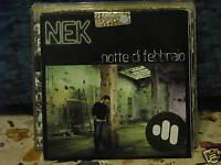 NEK-NOTTE DI FEBBRAIO -PROMOZIONALE SIGILLATO 2006 CARD SLEAVE