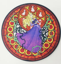 Kingdom Hearts Disney Princess Sleeping Beauty Aurora Stained Glass Mousepad