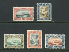 BRITISH GUIANA SCOTT#152/56 MINT HINGED SCOTT VALUE