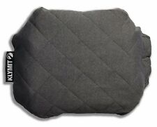 Klymit LARGE QUILTED PILLOW Travel/Camping GREY Special Edition