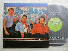 A-HA  Take on me / The best - Rare KOREA only release LP + inner sleeve / As new