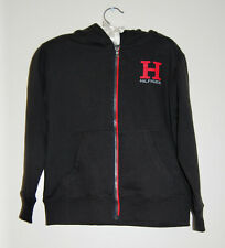 NWT Designer Tommy Hilfiger Little Boys Black Logo LS...
