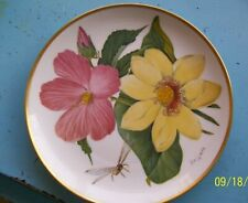 """Franklin Mint Wildflowers of the Great Lakes 8"""" decorative plate 1978"""