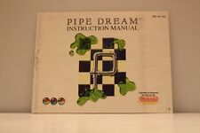 Pipe Dream NES Video Game Manual Instructions Nintendo