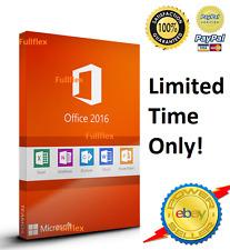 Microsoft Office 2016 profesional y cuenta 365 por 5 computadoras Mac Windows