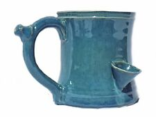 Smokey's Wake and Bake Pipe Mug Sky High Blue
