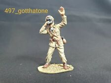 Airfix 1/32 German infantry officer WW2. professionally painted. 54mm. Rommel
