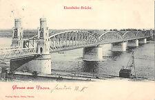 Thorn / Toruń  Westpreußen Eisenbahnbrücke Postkarte 1899