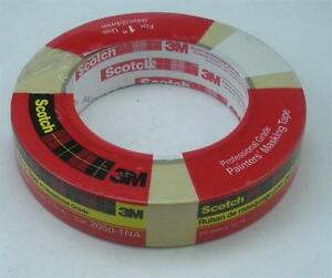 "3M Scotch 05618 1"" Masking Tape 60 Yards Pack of 6 19840"