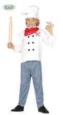 Guirca Costume da Cuoco/chef con divisa e Cappello per Bambini di 7