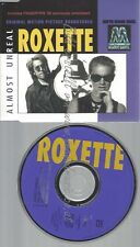 CD--ROXETTE --ALMOST UNREAL SUPER MARIO BROS , 'FINGERTIPS '93', 'HEART SHAPED S