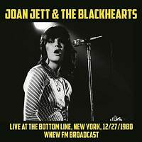 JOAN JETT LIVE AT THE BOTTOM LINE, NEW YORK, DECEMBER 1980 vinyl lp