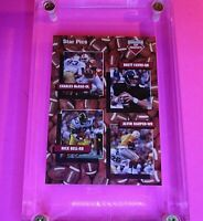 1991 Star Pics #109 Offensive Top Prospects w/ Brett Favre RC Rookie HOF MINT