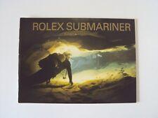 Rolex SUBMARINER LIBRETTO BOOKLET Vintage per Ref. 16610 16613 16600 16618 14060