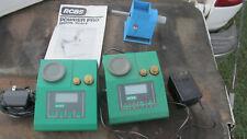 2 Rcbs Powder Pro Digital Scales Midway Electronic Powder Trickler Junk Lot