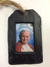 SANTO PAPA GIOVANNI PAOLO II quadro religioso CIONDOLO (RP02) - Isola TURF Crafts