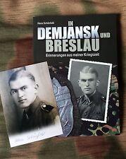 Kriegserinnerungen - Ostfront - Breslau -+ Signatur!