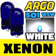 2 x xenon blanc lampe 12V 501 T10 éclairage latéral ampoules PIAGGIO-VESPA lx 125