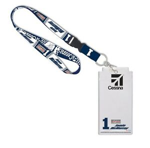 Jamie McMurray Wincraft #1 Cessna Lanyard W/Credential Holder FREE SHIP!