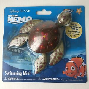 Disney Squirt Turtle Toy Pixar Finding Nemo Swimming-Bath-Water-pull-green-4+