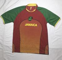 Mens Jamaica Football Federation Jersey Number 10 Size Medium Soccer