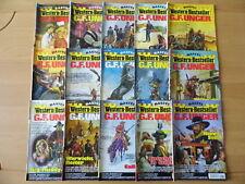"""15 """"Bastei"""" G.F.Unger >>Western-Bestseller<<- Romane in Einzelheften Paket 20"""