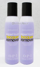 LOT 2 OPI Expert Touch Lacquer Remover 3.7oz/ 110ml Nail Polish Gel Removal ~4oz