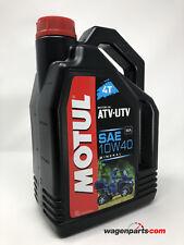 Lubricante Mineral Motor Quad Motul ATV-UTV 4T 10W40, 4 Litros